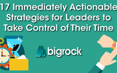 17 Immediately Actionable Strategies for Leaders to Take Control of Their Time