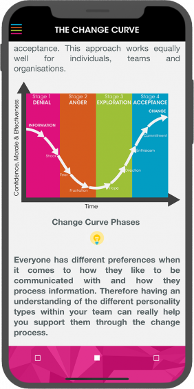 Management Excellence - The Change Curve