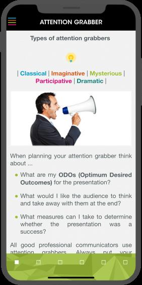 Presentation Excellence - Attention Grabber